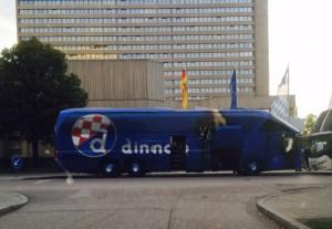 Bus Dinamo Zagreb Bayern München