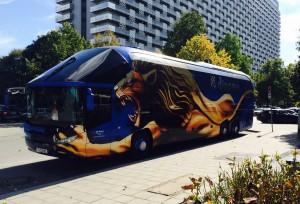 Bus Dinamo Zagreb München Löwe